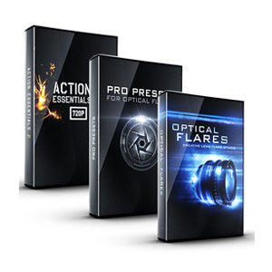 Video Copilot Action Flares Bundle (Optical Flares + Pro Presets + Action Essentials II)-Video Copilot-NOVEDGE