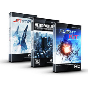 Video Copilot Aerial Bundle (JetStrike + Flight Kit + Metropolitan)-Video Copilot-NOVEDGE