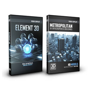Video Copilot City Bundle (Element 3D + Metropolitan Pack)-Video Copilot-NOVEDGE
