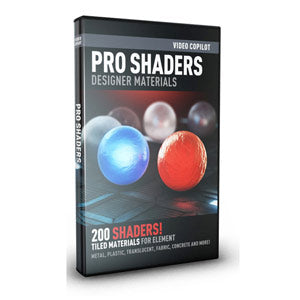 Video Copilot Pro Shaders for Element 3D and CINEMA 4D-Video Copilot-NOVEDGE