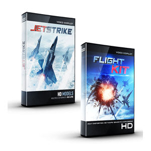Video Copilot Sky Pack Bundle (JetStrike + Flight Kit)-Video Copilot-NOVEDGE
