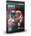 Video Copilot 3D Model Pack - Sports-Video Copilot-NOVEDGE