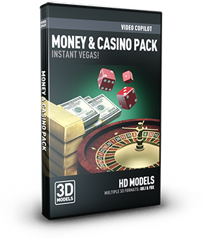 Video Copilot 3D Model Pack - Money & Casino-Video Copilot-NOVEDGE