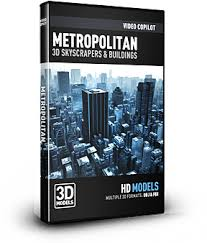 Video Copilot 3D Model Pack - Metropolitan-Video Copilot-NOVEDGE