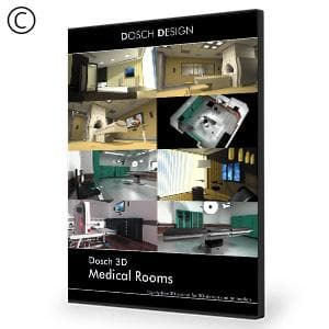 DOSCH 3D: Medical Rooms-Dosch Design-NOVEDGE