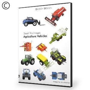 DOSCH 2D Viz-Images: Agriculture Vehicles-Dosch Design-NOVEDGE