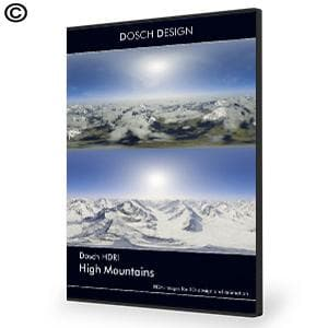 DOSCH HDRI: High Mountains - NOVEDGE