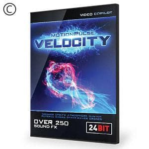 Video Copilot MotionPulse Audio Pack - Velocity-Video Copilot-NOVEDGE