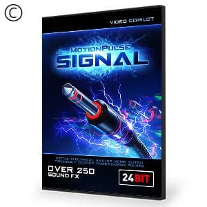 Video Copilot MotionPulse Audio Pack - Signal-Video Copilot-NOVEDGE