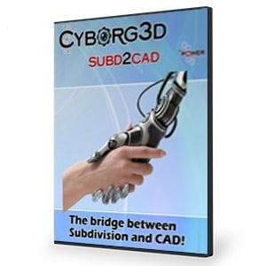 Cyborg3D SubD2CAD-nPower Software-NOVEDGE