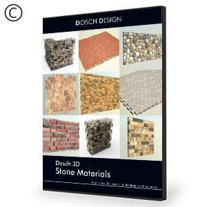 DOSCH 3D: Stone Materials - NOVEDGE