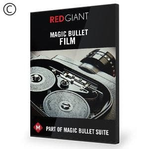 Magic Bullet Film-Red Giant-NOVEDGE