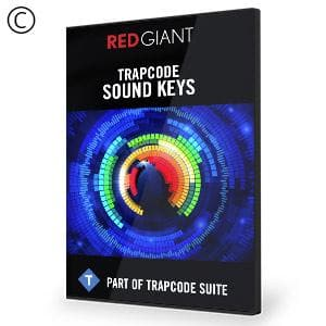 Trapcode Sound Keys-Red Giant-NOVEDGE