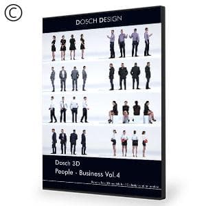 DOSCH 3D: People - Business Vol. 4 - NOVEDGE