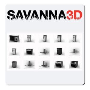 SAVANNA3D R6 for Rhino-Asuni-NOVEDGE