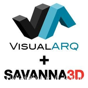 VisualARQ 2.7 + SAVANNA3D R6-Asuni-NOVEDGE