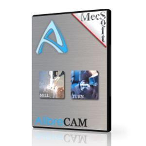 AlibreCAM 2019 MILL Xpress-MecSoft-NOVEDGE