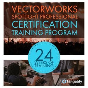 Vectorworks Spotlight Certification <br> Professional Certification Program - NOVEDGE