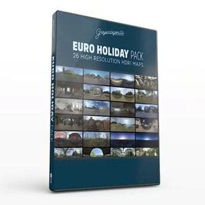 Greyscalegorilla HDRI Expansion Pack: European Holiday-Greyscalegorilla-NOVEDGE