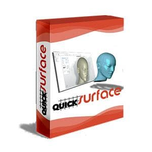 QUICKSURFACE Free Form Edition-Mesh2Surface-NOVEDGE