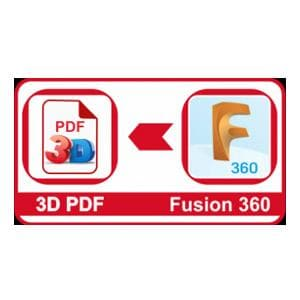3D PDF Converter for Autodesk Fusion 360-VisionWorkplace-NOVEDGE