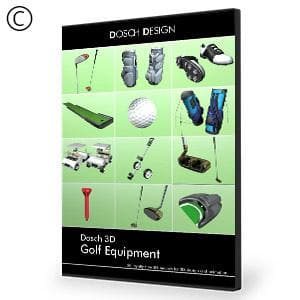 DOSCH 3D: Golf Equipment-Dosch Design-NOVEDGE