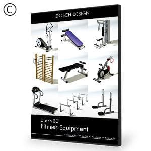 DOSCH 3D: Fitness Equipment-Dosch Design-NOVEDGE