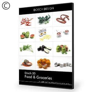 DOSCH 3D: Food & Groceries-Dosch Design-NOVEDGE