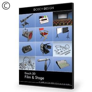 DOSCH 3D: Film & Stage-Dosch Design-NOVEDGE