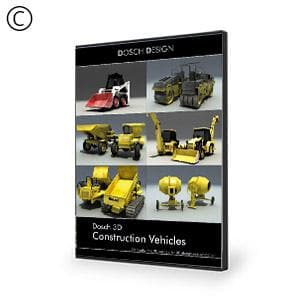 DOSCH 3D: Construction Vehicles-Dosch Design-NOVEDGE