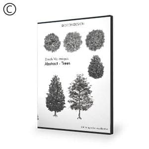 DOSCH 2D Viz-Images: Abstract - Trees-Dosch Design-NOVEDGE