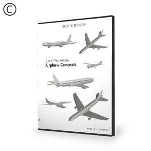 DOSCH 2D Viz-Images: Airplane Concepts-Dosch Design-NOVEDGE
