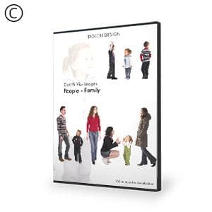 DOSCH 2D Viz-Images: People - Family-Dosch Design-NOVEDGE