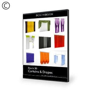 DOSCH 3D: Curtains & Drapes-Dosch Design-NOVEDGE