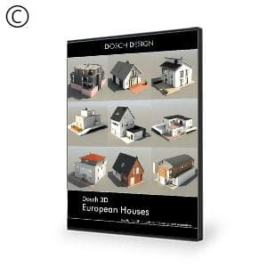 DOSCH 3D: European Houses-Dosch Design-NOVEDGE