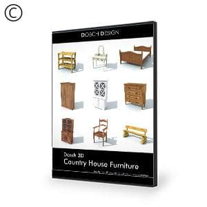 DOSCH 3D: Country House Furniture-Dosch Design-NOVEDGE