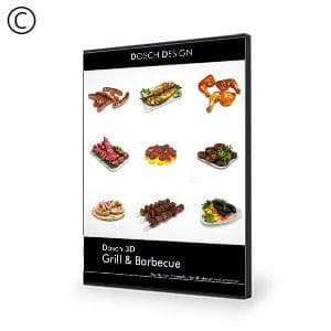 DOSCH 3D: Grill & Barbecue-Dosch Design-NOVEDGE