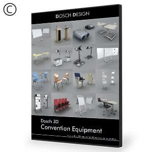 DOSCH 3D: Convention Equipment-Dosch Design-NOVEDGE