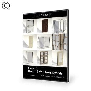 DOSCH 3D: Doors & Windows Details-Dosch Design-NOVEDGE