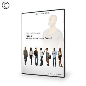 DOSCH 2D Viz-Images: People - African American - Casual-Dosch Design-NOVEDGE