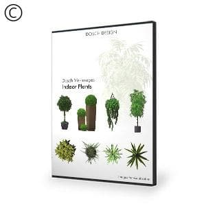 DOSCH 2D Viz-Images: Indoor Plants-Dosch Design-NOVEDGE