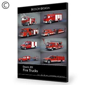 DOSCH 3D: Fire Trucks-Dosch Design-NOVEDGE