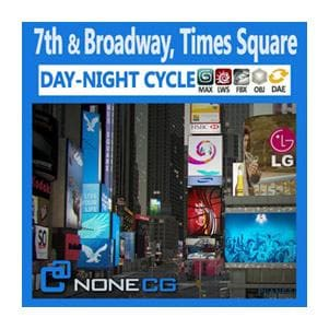 Architecture - NYC - Broadway, 7th Ave, Times Square - NOVEDGE