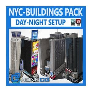 Architecture - NYC - Buildings Pack - NOVEDGE