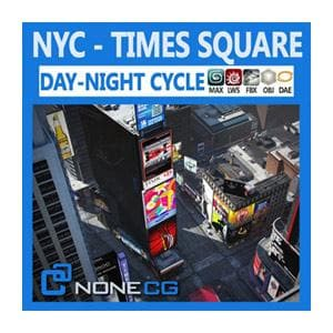 Architecture - NYC - Times Square - NOVEDGE