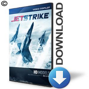 Video Copilot 3D Model Pack - JetStrike-Video Copilot-NOVEDGE