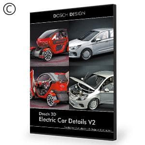 DOSCH 3D: Electric Car Details V2-Dosch Design-NOVEDGE
