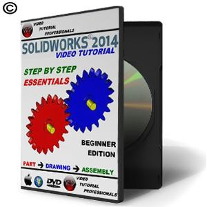 Solidworks 2014-2015 Step By Step Essentials - Video Tutorial - NOVEDGE