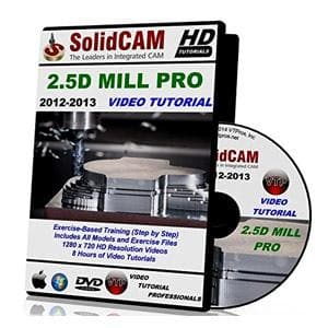 SolidCAM 2.5D Mill Pro - Video Tutorial - NOVEDGE