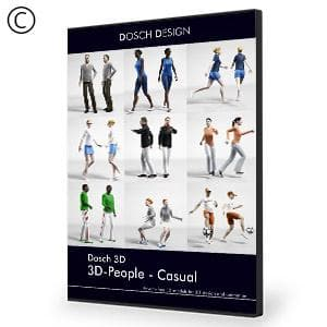 DOSCH 3D: 3D-People - Casual - NOVEDGE